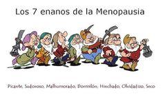 los 7 enanos de la menopausia