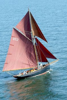 Jolie Brise is a 56' gaff rigged pilot cutter that was built in Le Havre in 1913. In 1925, she was the first winner of the first Fastnet Race, repeating the success in 1929 and 1930 and is still the only vessel to have won the Fastnet three times. Her most noted achievement was her rescue of all but one of the crew of the schooner, Adriana, which caught fire during the 1932 Bermuda Race.