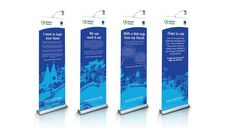 Roll up banner design inspiration sage pull up banner stand Pull Up Banner Design, Pop Up Banner, Banner Design Inspiration, Design Ideas, Samsung Photos, Event Banner, Banner Stands, Business Events, Printing Companies