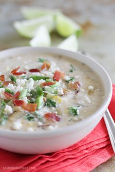 Fresh corn is scraped from the cob and added to this creamy corn chowder recipe with an added kick of flavor from chipotle chiles.