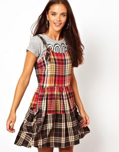 River Island Check Skater Pinny Dress (just ordered this and I love it )