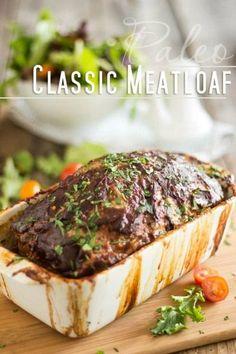 Classic Paleo Meatlo