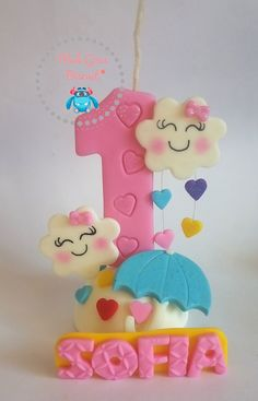 Cloud Party, Candels, Unicorn Birthday, First Birthdays, Biscuits, Cake Decorating, Special Occasion, Rainbow, Baby Shower