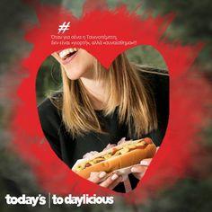 Διαγωνισμός Todaylicious με δώρο σε δέκα τυχερούςτα Hot Dogs τους για ένα μήνα! https://getlink.saveandwin.gr/aR6