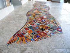 Wave carpet mosaic by mavricug