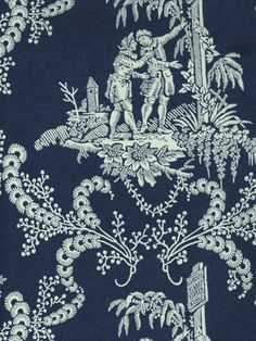 Hamlet's Toile - traditional - Wallpaper - Houston - American Blinds Wallpaper and More