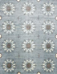 Blossom, stone blue – From textural ombre designs to bold, graphic styles and everything in between, New Moon offers a full range of modern designs.  Our unique design sensibility paired with our unequaled quality creates and unsurpassed collection of Tibetan rugs.