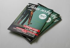 Threesixty magazine by QUSQUS , via Behance