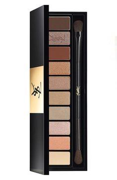 Yves Saint Laurent 'Nu' Couture Variation Ten-Color Expert Eye Palette