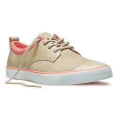 Look at this Taupe Coral Leather Etta Sneaker by PF Flyers Estilo Nike, Pf Flyers, Colorful Sneakers, Women Lifestyle, Kinds Of Shoes, New Balance Shoes, Crazy Shoes, Street Style Women, Taupe