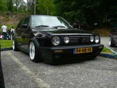 Volkswagen golf gti MK2 BBS Classic Golf, Modern Classic, Vw Golf Wallpaper, Volkswagen Golf Mk2, Old Cars, Old School, Dream Cars, Automobile, Golf 1