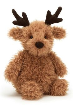 High quality soft toy animal Pudding Reindeer by Jellycat. Cuddles And Snuggles, Cuddling, Pet Toys, Kids Toys, Children's Toys, Seal Pup, Cute Sleepwear, Jellycat, Santas Workshop