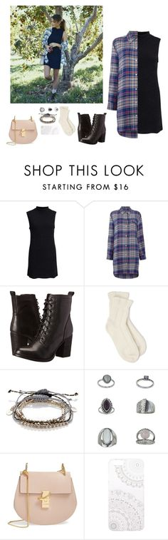 """Style Tips From Tess Christine"" by ms-stylista-dancer ❤ liked on Polyvore featuring Toby Heart Ginger, DKNY, Steve Madden, Falke, Accessorize, Topshop, Chloé and Monika Strigel"