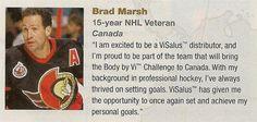 Brad Marh, NHL!