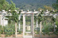 Great design for a vegetable garden enclosure | Velvet and Linen: Patina Farm garden