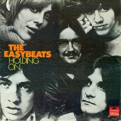 """THE EASYBEATS """"Holding On"""" 1970 re ((original """"Freinds""""1969)) Polydor (DE) This lp is mostly made of VANDA-YOUNG home studio demos they did with Young's older brother George Alexander (GRAPE-FRUIT) when their tenure at Mod producer MIKI DALLON'S  YOUNGBLOOD label. Well over half of it is really good, striped down & trying new ideas that led to their 2nd signature sound in the '70s. """"Watching the World Go By"""", Rock n' Roll Boogie"""", """"Can't Find Love"""",""""Tell Your Mother"""" & """"Woman You're On My…"""