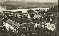 Telemark fylke Notodden. Teater i forgrunnen. Utg Telemarkens Bokhandel tidlig 1900-tallet Painting, Painting Art, Paintings, Paint, Draw