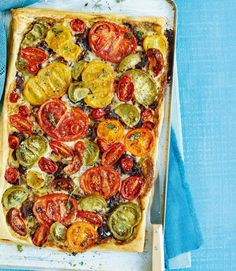 tomato-caramilised-onion-tart