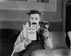 BUSTER KEATON born 4 October, 1895, 120 yrs ago, famous for Sherlock Jr. (24), Seven Chances (25) & The General (26)