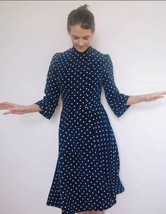@whatbecssews Martha Dress - Sewing pattern by Tilly and the Buttons