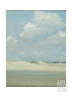 Dunes at the Sea (Laguna Beach) Giclee Print by Eleanor Ruth Colburn at Art.com