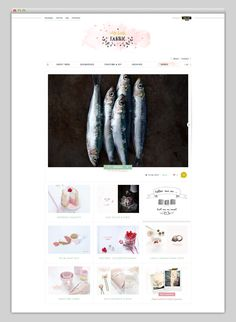 Handmade elements integrated in a good way. Websites We Love
