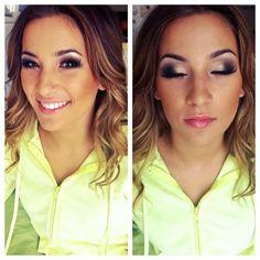 Prom makeup for miss Schoenfeld Schoenfeld Worthington 😘 - Cochran-Smith Cochran-Smith Lopes- Sexy Makeup, Prom Makeup, Gorgeous Makeup, Beauty Makeup, Makeup Looks, Hair Makeup, Hair Beauty, Pretty Makeup, Beauty