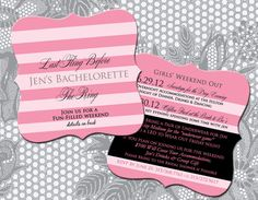 Victoria's Secret Themed Bach Party or by CustomCreationsbyJD, $87.00