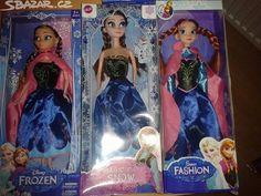 Frozen panenka Anna nebo Elza - obrázek číslo 1