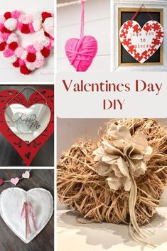 Shabby Chic heart Valentines Day decor. Raffia heart diy. How to make easy flower out of drop cloth. Dollar Tree craft Happy Valentine Day HAPPY VALENTINE DAY | IN.PINTEREST.COM WALLPAPER EDUCRATSWEB