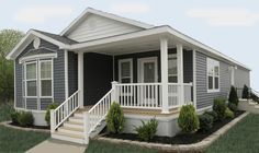Tips, methods, along with overview with regard to acquiring the absolute best end result and creating the optimum utilization of Mobile Home Remodel Modular Home Plans, Modular Homes, Home Porch, House With Porch, Small House Plans, House Floor Plans, Mobile Home Addition, Double Wide Remodel, Skyline Homes