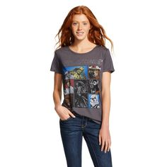 Women's Star Wars Character T-Shirt Black...acquired