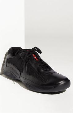 Prada sneakers...butter soft leather...can dress up or dress down with these too......