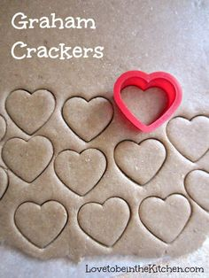 Graham Crackers- Easy to make and so fun to make with kids!