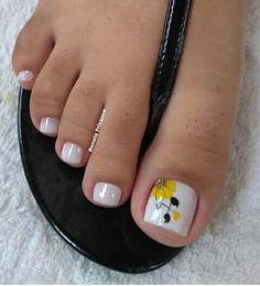 Cute Toe Nails, Cute Toes, Gel Nails, Toenails, Toe Nail Color, Nail Colors, Toe Designs, Simple Nails, Short Nails