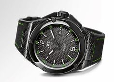 The IWC Ingeniuer Automatic Carbon Performance Ceramic is priced at $24,600