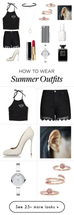 Summer Outfits : #black&white #colab with Gemma-outfits and dont forget to follow Gemma-outfits