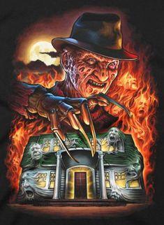 Nightmare on Elm Street Freddy Krueger Candy Bowl Holder - freddy krüger / king of elm street - Películas por Género Horror Villains, Horror Movie Characters, Chucky, Freddy Krueger, Horror Movie Tattoos, Horror Artwork, Arte Obscura, Horror Icons, Classic Horror Movies