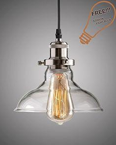 Lucia Lighting Pendant Ceiling Light Mid-Century Vintage ...