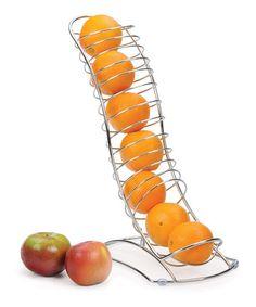 """fruit chute"" Storage Rack -  Kitchen Organization"
