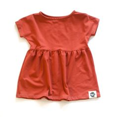 Swing Top for girls from Wildly Co., ethically made clothing