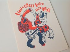Dancing Animals by Natalya Balnova, via Behance