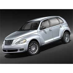 Chrysler PT Cruiser 2008 Mid-poly - 3D Model