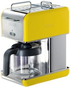 Amazon.com: DeLonghi Kmix 5-Cup Drip Coffee Maker, Yellow: Kitchen & Dining