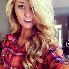 Big blonde curls