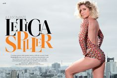 Perfil Letícia Spiller - Revista Corpo a Corpo