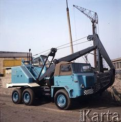 STAR - truck-crane (poland)