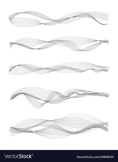 Music sound waves vector image on VectorStock Wave Design, Sound Design, Sound Waves, Music Waves, Digital Wave, Waves Line, Waves Vector, Waves Background, Typography Poster Design