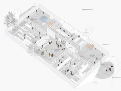Extension de l'ecole d'architecture, NP2F   BETA