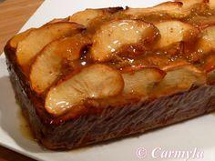 Tarta de manzana con harina de trigo sarraceno